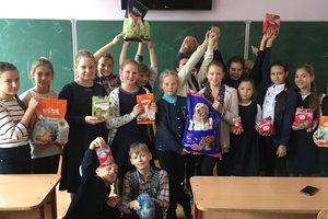 Украинские школьники собрали для бездомных животных 5 тонн корма и круп