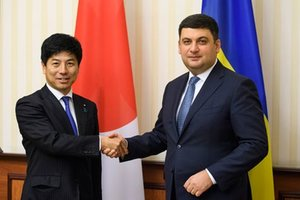 Гройсман рассказал, как Украина будет сотрудничать с Японией