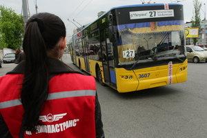 В Киеве изменится движение троллейбусов маршрутов № 27, 30 (схема)