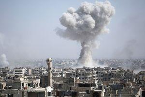 В Сирии подорвался российский военный конвой
