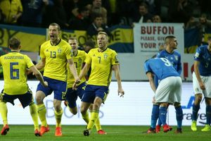Обзор матча Швеция - Италия - 1:0