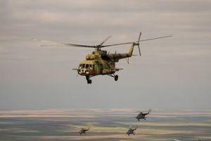 В Ираке разбился военный вертолет, есть погибшие
