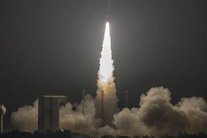 Европейцы запустили ракету с украинским двигателем: опубликовано видео