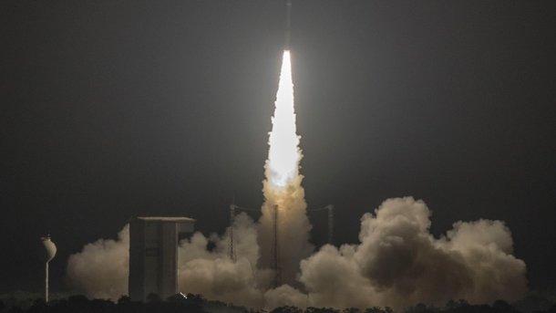 Ракета Vega сукраинским агрегатом  благополучно  запущена— Порошенко