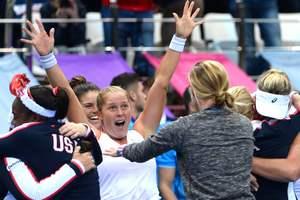 Сборная США выиграла Кубок Федерации по теннису
