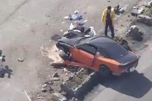 В Японии во время дрифт-заезда автомобиль врезался в зрителей
