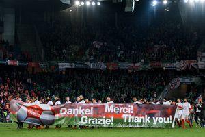 Обзор матча Швейцария - Северная Ирландия - 0:0