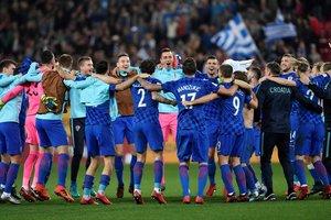 Сборная Хорватии вышла на чемпионат мира по футболу