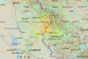 В Ираке произошло мощное землетрясение