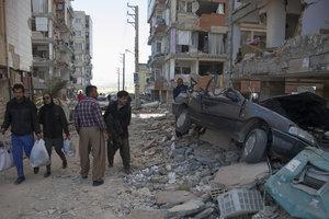 В Иране произошло мощное землятрясение: сотни раненых и убитых