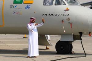 """""""Антонов"""" в Саудовской Аравии показал два новых самолета"""