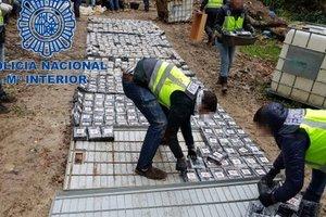В Іспанії конфіскували одну з найбільших партій кокаїну