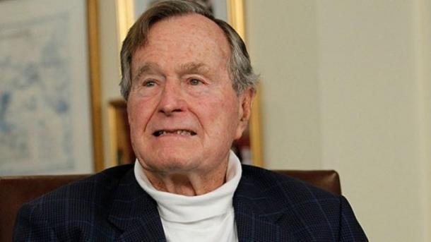 Восьмая посчету женщина обвинила вдомогательствах Джорджа Буша-старшего