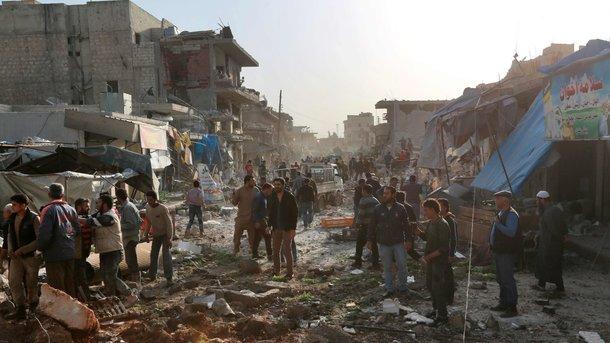 Врайоне деэскалации авиаудар забрал жизни 53 мирных граждан — вражда вСирии