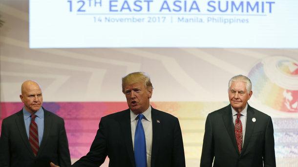 Трамп поспешно уехал из Азии
