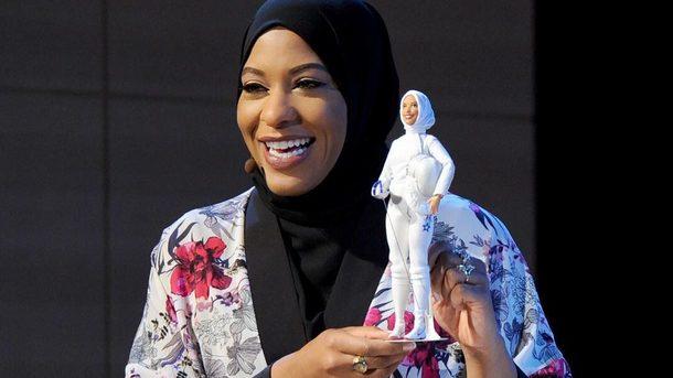 Появилась первая кукла Барби в хиджабе