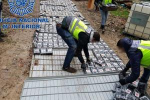 В Испании изъяли рекордную партию кокаина