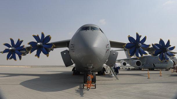 Украинский военный транспортник Ан-70 избавится от российских деталей