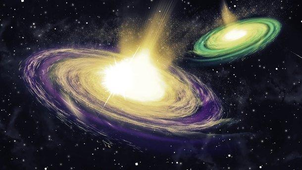 Произошло самое крупное столкновение галактик в истории: опубликовано фото