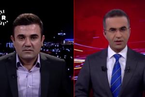 Землетрясение сорвало выпуск новостей: появилось видео