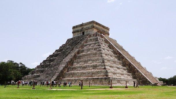 Пирамида майя. Фото: pixabay.com