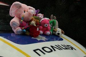В Одессе служебные автомобили патрульных пополнятся игрушками
