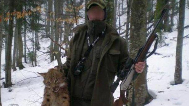 Лесником с Закарпатья, который убил краснокнижную рысь, занялась полиция