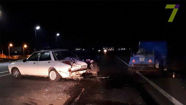 Пьяное ДТП в Одессе: разбиты три авто, пострадал ребенок