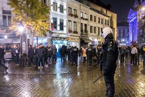 В центре Брюсселя начались массовые беспорядки