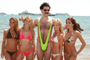 In Kazakhstan arrested the tourists, dressed in mankini as Borat