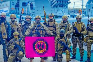 Poroshenko Groysman congratulated Marines