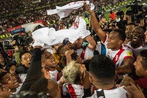 Сборная Перу пробилась на ЧМ-2018 впервые с 1982 года