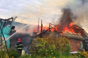 Под Киевом во время пожара погиб хозяин дома