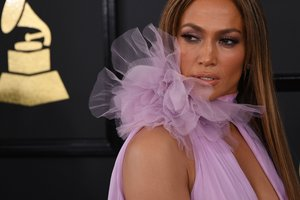 Jennifer Lopez appeared at a party in Dubai in a provocative outfit