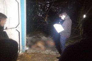 В Одессе на СТО произошел пожар, погиб парень
