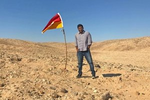 Индиец нашел ничейную землю между Египтом и Суданом и стал ее королем