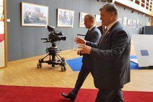 Названа дата встречи Порошенко с президентом Евросовета Туском