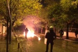 Массовые беспорядки в Греции: студенты против пяти тысяч полицейских