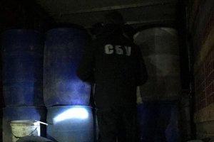 В Одесской области перекрыли канал поставок контрафактного спирта