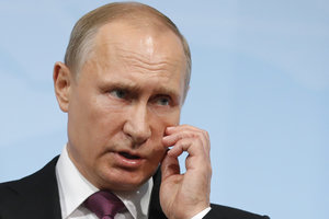 В Санкт-Петербурге сообщили о 50 бомбах на пути кортежа Путина