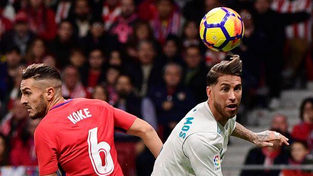 Капитан «Реала» Серхио Рамос получил перелом носа вматче с«Атлетико»