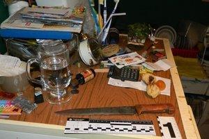 В Киеве мужчина ранил ножом племянника