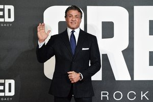 The ex-wife of Sylvester Stallone: