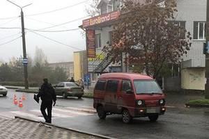 В Мелитополе ребенка сбила машина прямо на переходе