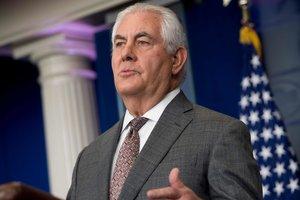 Тиллерсон заявил, что Вашингтон до сих пор надеется на дипломатическое решение по КНДР
