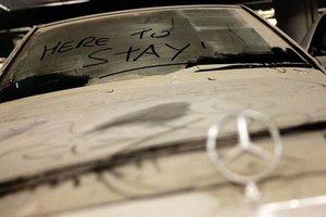 Утерянный 20 лет назад Mercedes случайно вернулся к владельцу