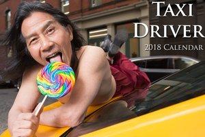 Нью-йоркские таксисты выпустили антигламурный календарь