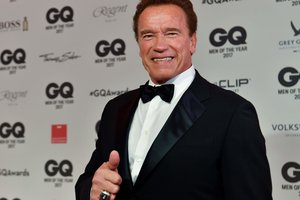 70-year-old Arnold Schwarzenegger came out with 43-year-old sweetheart