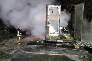 Пожар на международной трассе возле Тернополя: в пробке оказались 200 авто