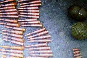 Запорожские спецназовцы-полицейские обнаружили партию боеприпасов